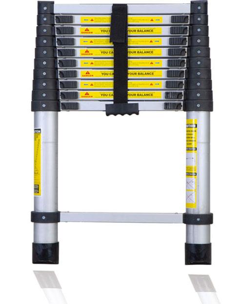 Telescoping Aluminum Extension Ladder : ★portable aluminum telescoping extension ladder ebay